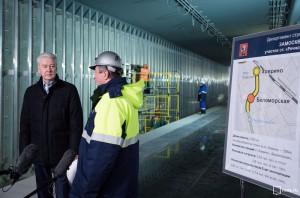 Сергей Собянин рассказал о строительстве новой станции метро на севере Москвы