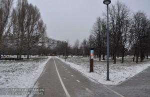 """Велосипедная дорожка в парке """"Садовники"""""""