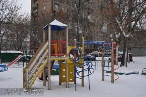 Детская площадка на Нагатинской улице