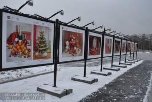 """Зимняя выставка в парке """"Садовники"""""""