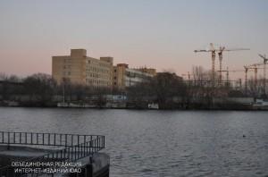 Промзона ЗИЛ со стороны Новоданиловской набережной