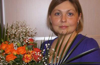 На фото Ольга Пономарева