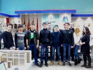 Студенты колледжа №34 на экскурсии в музее боевой и трудовой славы Научно-исследовательского центра электронно-вычислительной техники
