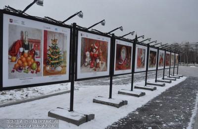 Зимняя выставка в парке НС (5)