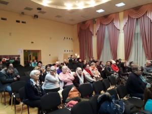 Встреча главы управы района с населением
