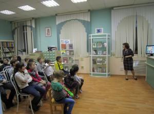 "Заседание детского клуба ""Библиокино"""