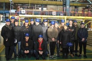 Студенты колледжа в ПАО «Карачаровский механический завод»