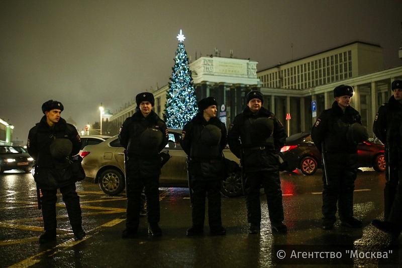 Впраздновании Нового года в столице России участвовали около 3-х млн. человек