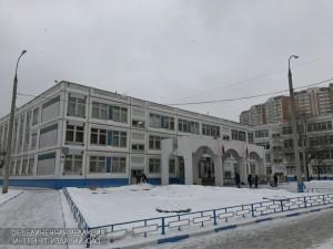 На фото школа №1375