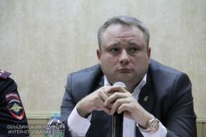 Глава управы района Нагатино-Садовники Сергей Федоров