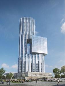 Проект будущего небоскреба