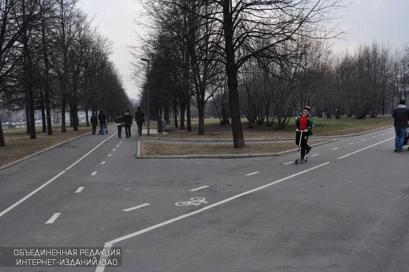 Встоличных парках заработали первые пункты проката