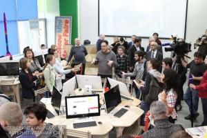 С технологиями будущего в образовании познакомили московских школьников