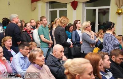 Жители округа встретились с префектом ЮАО