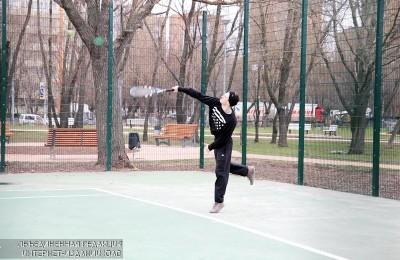 Теннисист в ЮАО