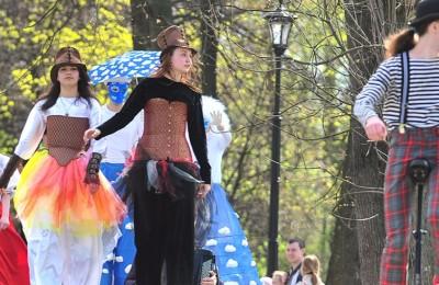 В Москве продолжается фестиваль «Ворвись в весну»