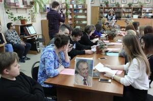 В колледже №34 почтили память Евгения Евтушенко