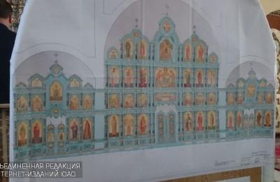 В ЮАО завершается возведение трех православных храмов