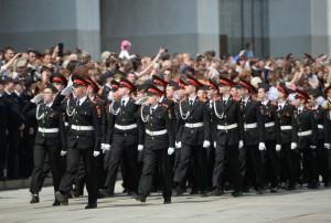 Парад кадет в Москве соберет более 2 500 участников