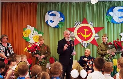 Ветераны Великой Отечественной войны встретились с дошколятами района
