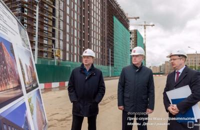 Собянин отметил развитие городской инфраструктуры на территории ЗИЛа