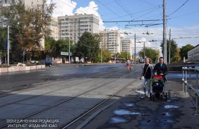 Улица района Нагатино-Садовники