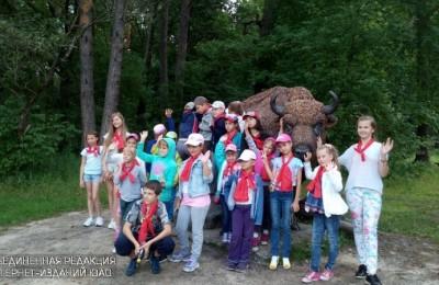 Юные жители ЮАО на экскурсии