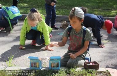 Юные жители Южного округа Москвы