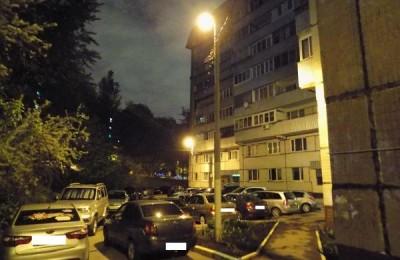 Отремонтированное освещение в районе