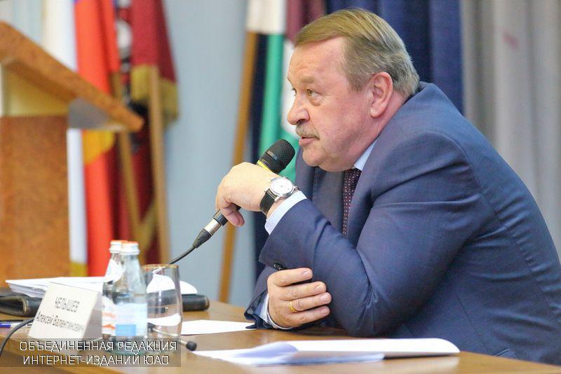 Префект Южного округа Москвы Алексей Челышев