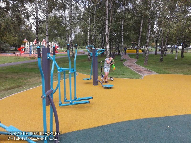 Спортивная площадка в Нагатине-Садовниках