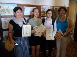 Авторы «Города Айвазовского» получили дипломы