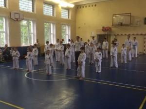 Итоговая аттестация по тхэквондо прошла в школе №978