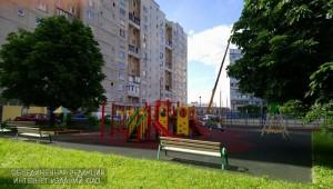 Детская площадка в районе Нагатино-Садовники