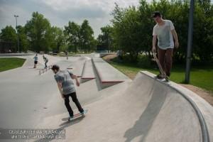 """Скейтбордисты в парке """"Сдаовники"""""""