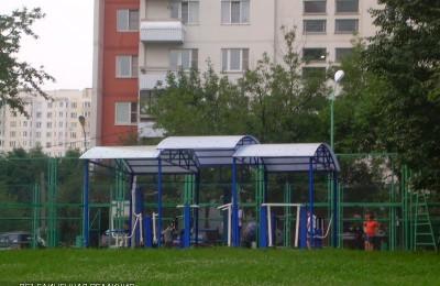 Площадка для воркаута в ЮАО