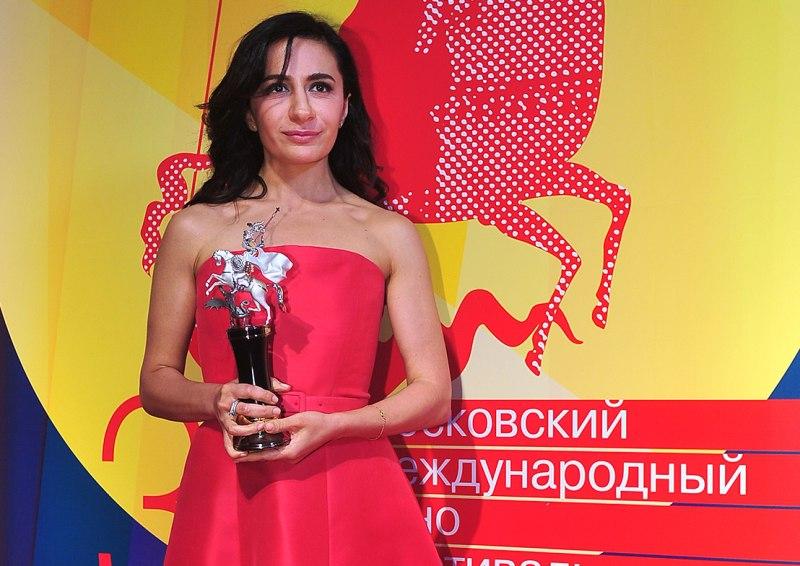 Первый в истории приз «За создание образа Москвы в киноискусстве» получила Анна Меликян