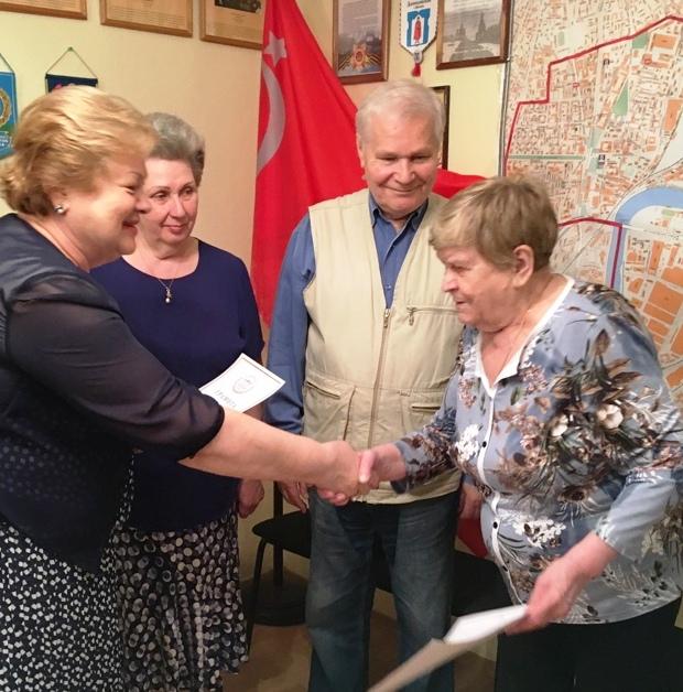 Совет ветеранов Даниловский 3