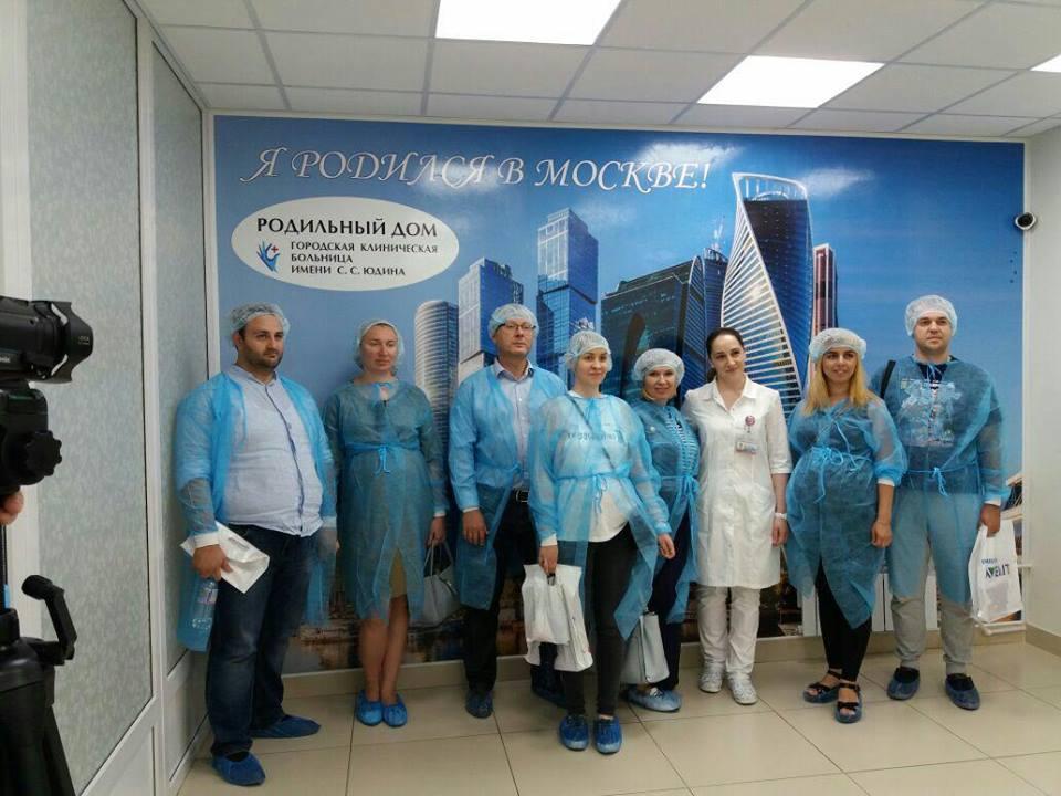 С будущими родителями пообщался главный врач ГКБ имени Юдина