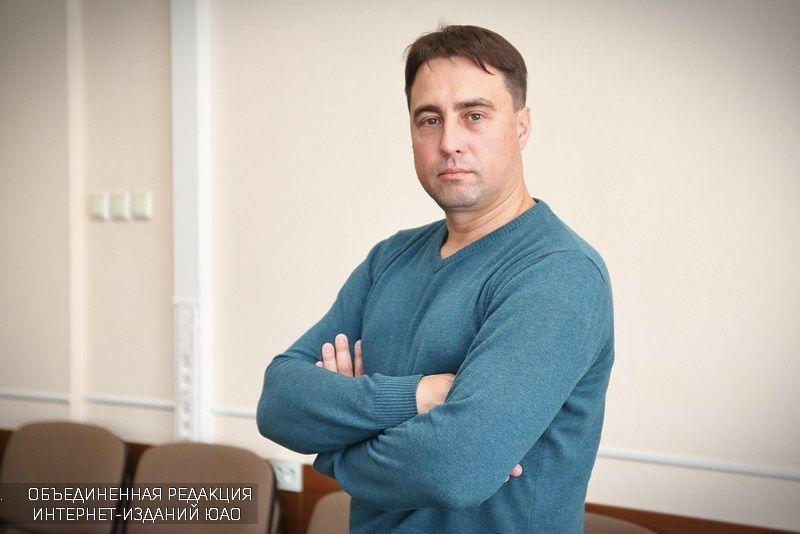 На фото Андрей Лазуткин