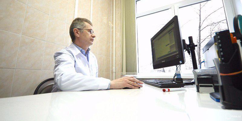 Электронные медкарты оформили 54% пациентов столичных поликлиник