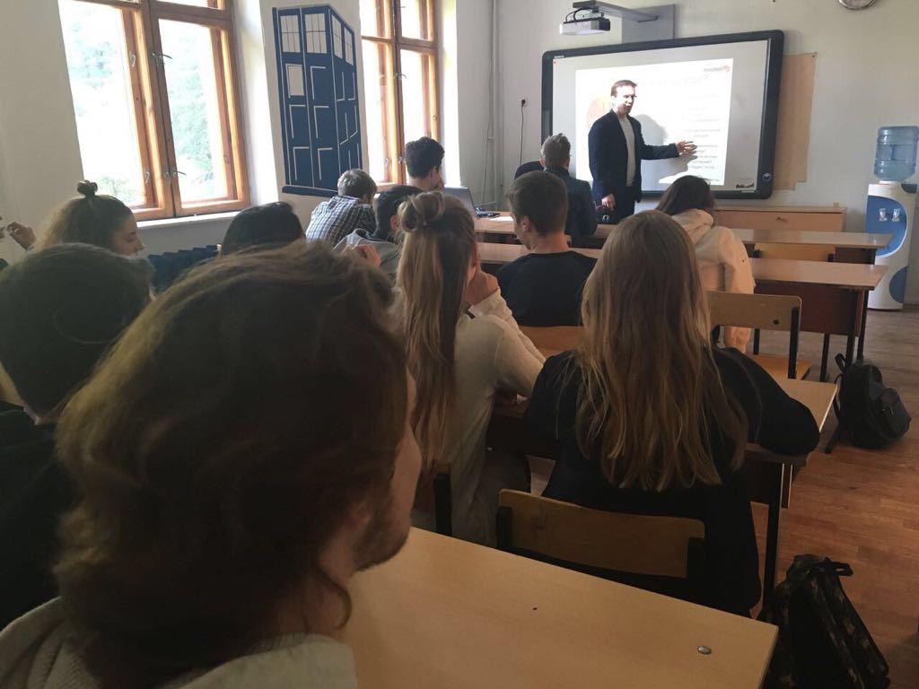 Мастер-класс для старшеклассников в школе №1073
