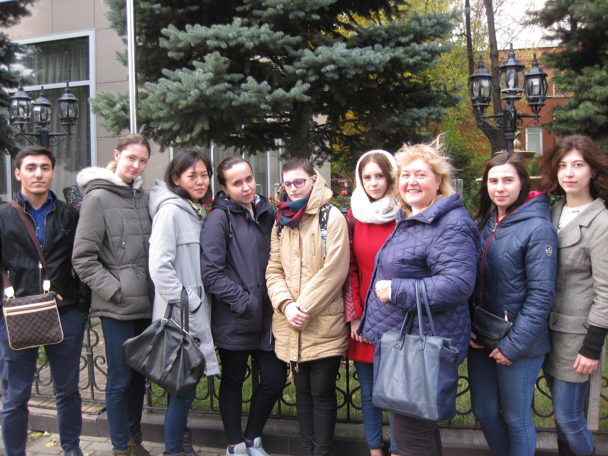 Студенты Технологического колледжа №34