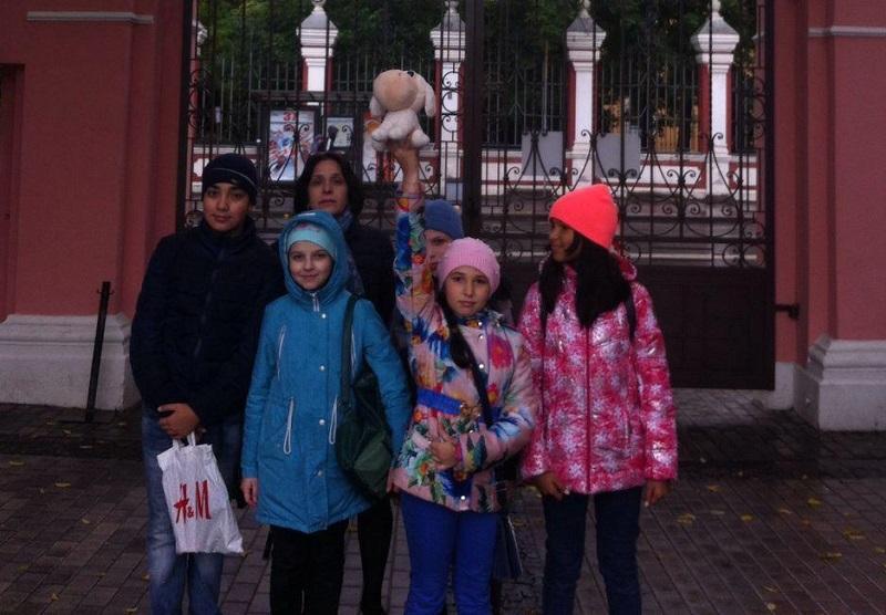 Экскурсии для учеников школы №1073