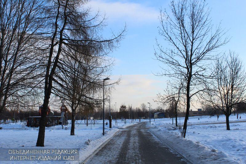 """Зима в парке """"Садовники"""""""