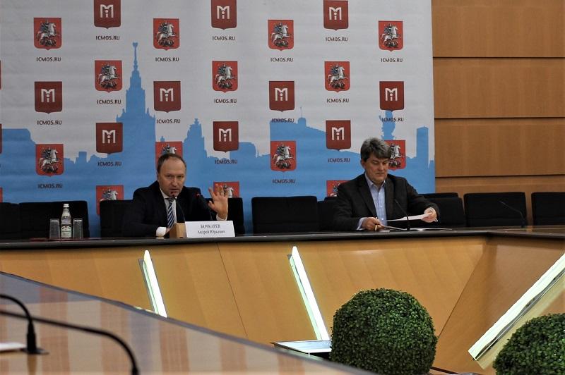 Андрей Бочкарев на пресс-конференции