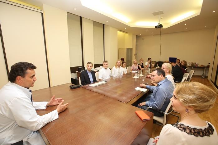 Встреча с представителями волонтерских организаций