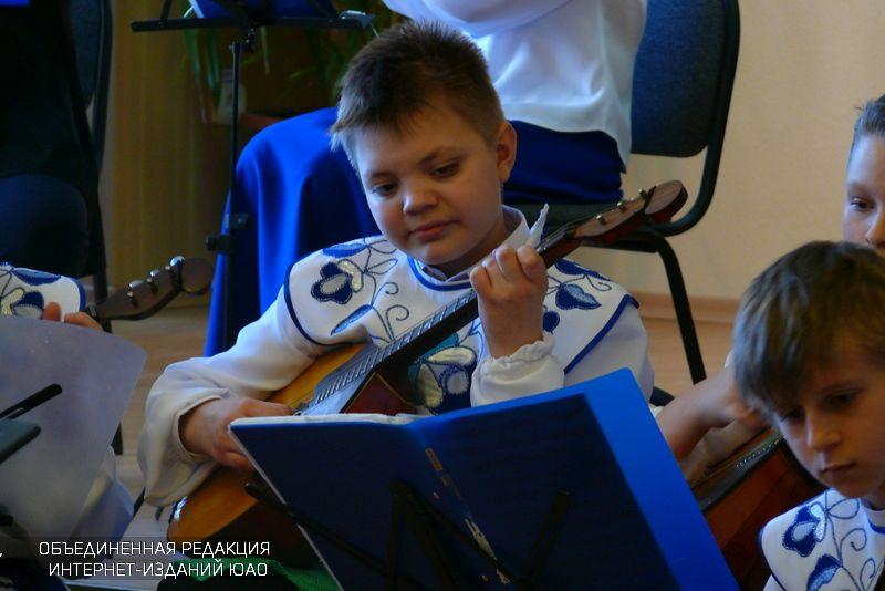 Юный музыкант