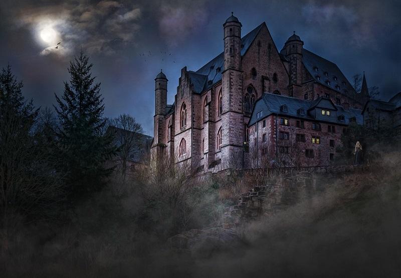 Замок, Эдгар Аллан По, досуг, библиотека 165