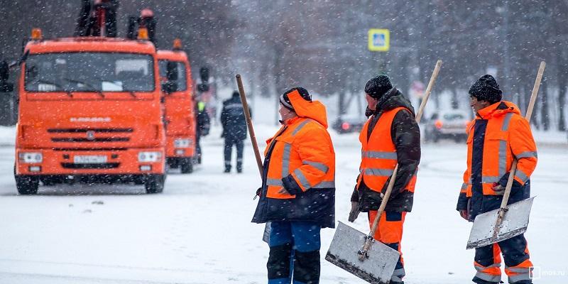 Дмитрий Лапенко, ГБУ «Жилищник», отдел благоустройства, снег, снегопад, уборка